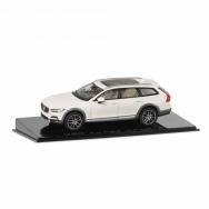 Volvo V90CC model 1:43, Crystal White